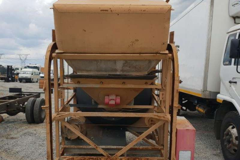 Electric Batching Plant (MBP06) Batching Plant - Mobile
