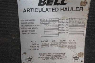 Bell BELL B25B Breaking for parts ADTs