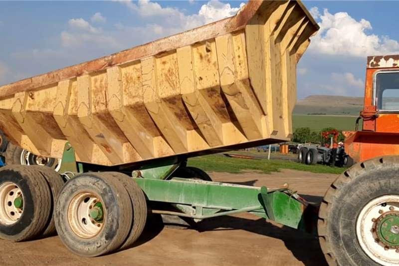 Bell Dumper Tip Trailer Attachments