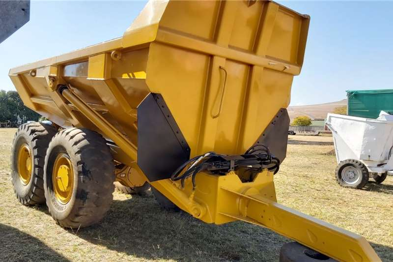 Bell Attachments Rock Dumper Tip Trailer
