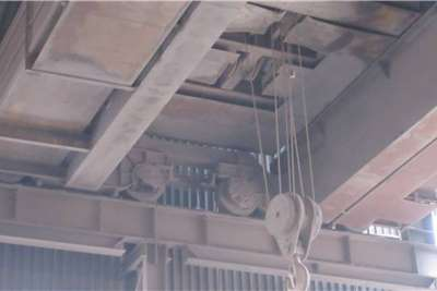 Bell Morris 25 Ton Overhead Crane Cranes