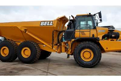 Bell Dumpers B40D (GENUINE HRS CONFIRMED BY BELL ) 2012