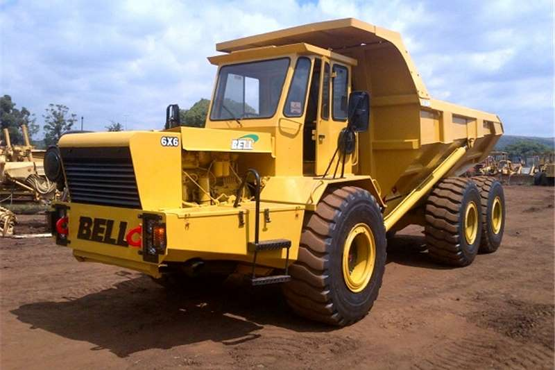 Bell Dumpers Bell B25 6x4 ADT 1987