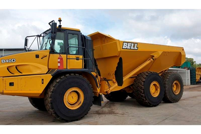 Bell Dumpers BELL B40D ( Genuine hrs confirmed by Bell ) 2013