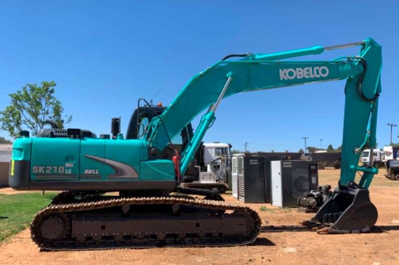 Bell Excavators Kobelco sk 210 lc 2017