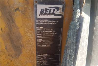 Bell Construction BELL 315SJ Breaking for spares TLBs