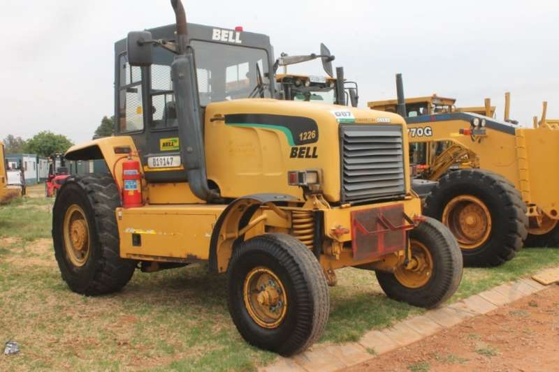 Bell Tractors - towing 1226A Tractor 2010