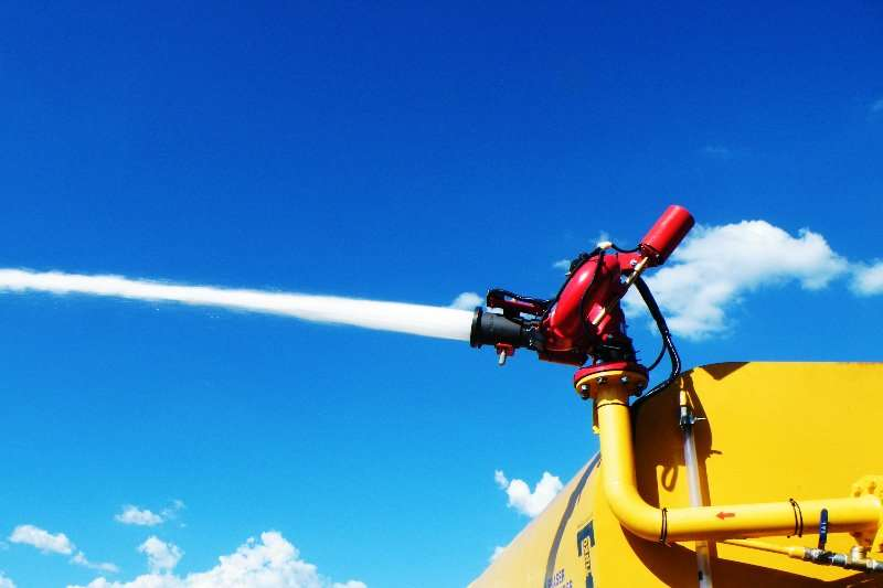 Bell Remote operated water cannons Water tankers