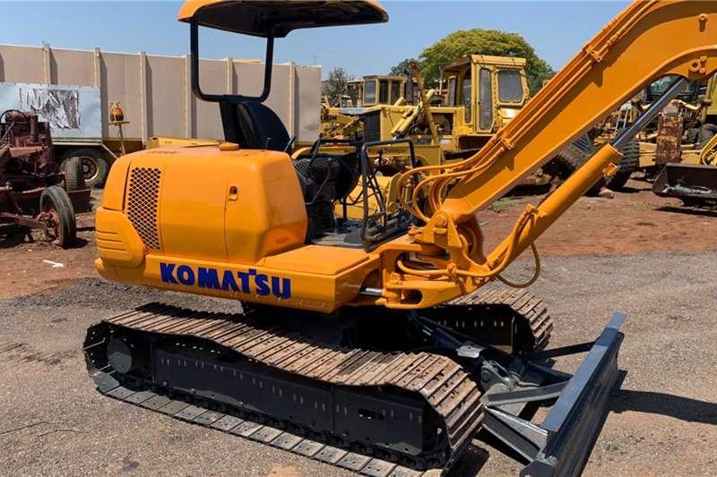 Bobcat 2005 Komatsu PC 45 1 Mini Excavator for sale Mini excavators
