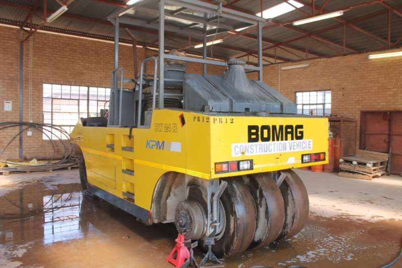 Bomag Roller BW24R Pneumatic Rubber Wheeled Roller 2015
