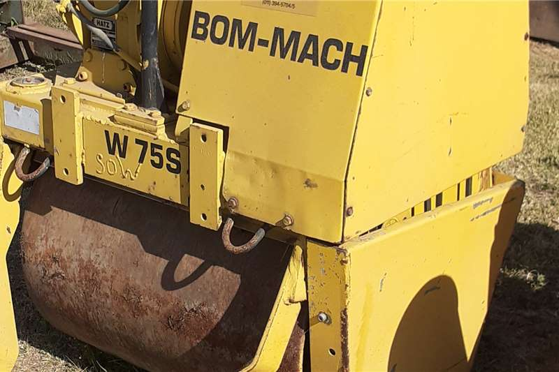 Bomag Roller smooth