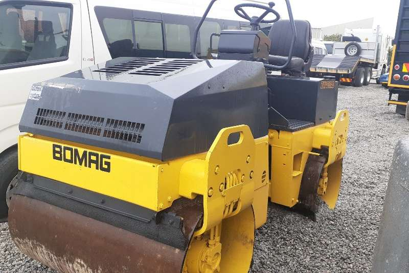 Bomag Rollers Bomag BW120 AD Ride on Roller