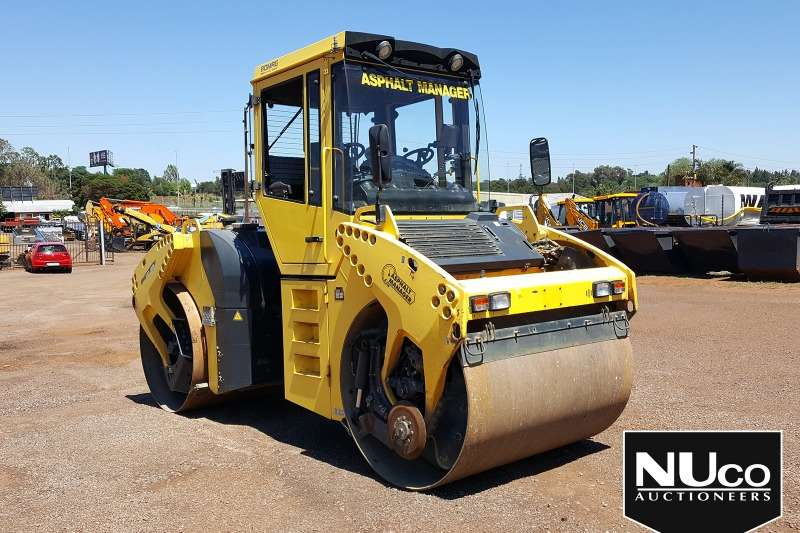 Bomag Rollers BOMAG BW151AD SMOOTH DRUM ROLLER 2009