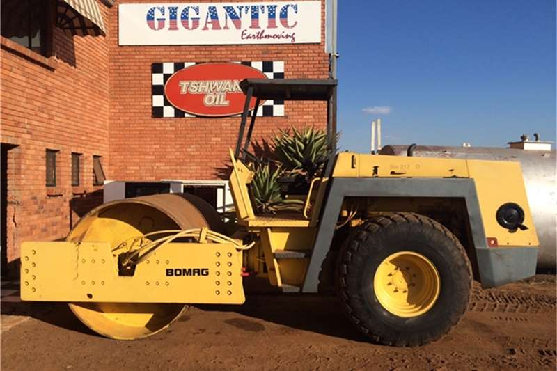 Bomag Rollers BW217D COMPACT ROLLER