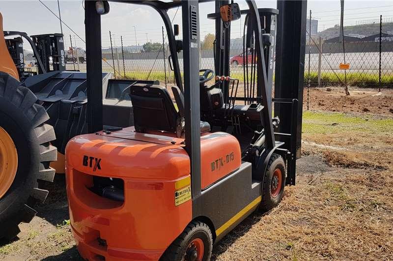 BTX Diesel forklift BTX D15 Forklifts