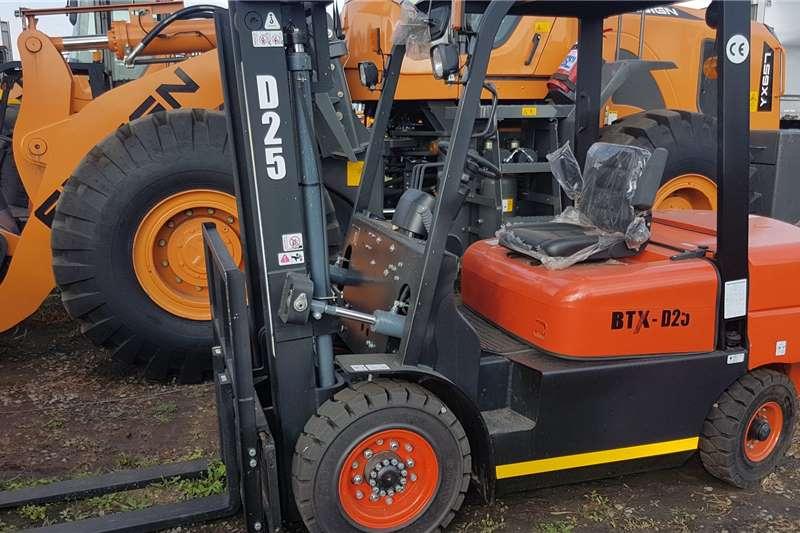 BTX Forklifts Diesel forklift BTX D25 2020