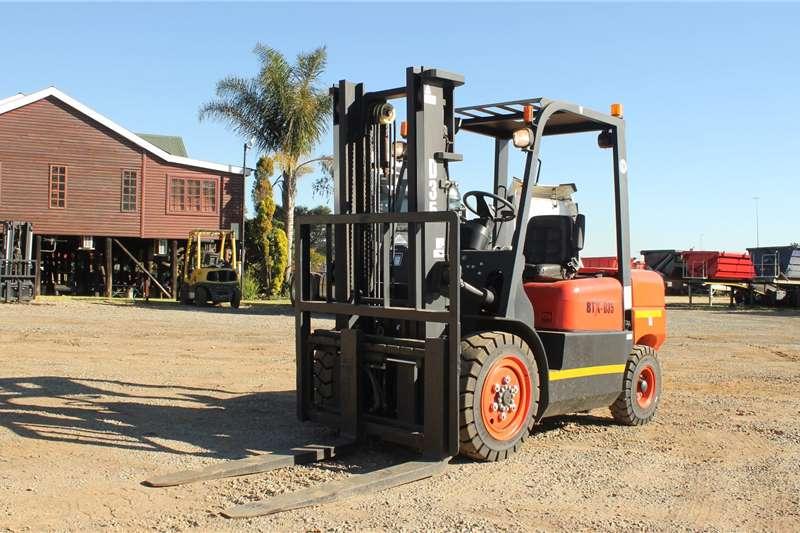 BTX Forklifts Diesel forklift BTX D3.5 2020
