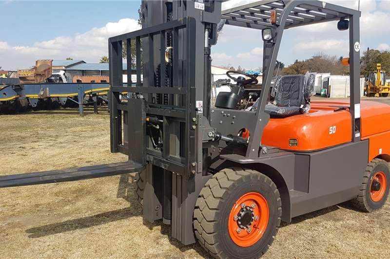 BTX Forklifts Diesel forklift BTX D5.0 2020