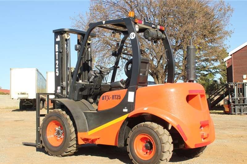 BTX Forklifts Diesel forklift BTX RT 2.5 Rough 2020