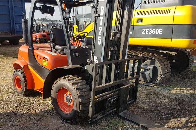 BTX Forklifts Diesel forklift BTX RT25 2020