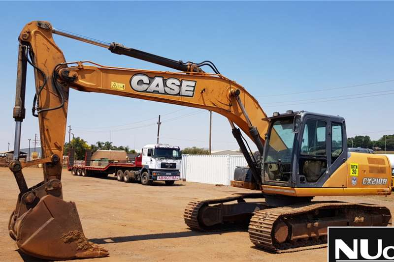 Case Excavators CASE CX210B EXCAVATOR 2013