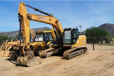 Case CX240B Excavators