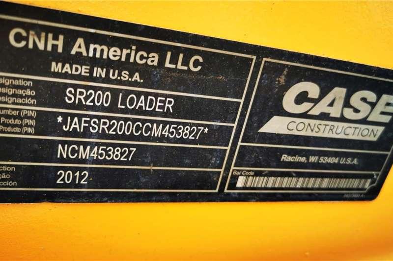 Case Case SR200 Skidsteer Forestry equipment