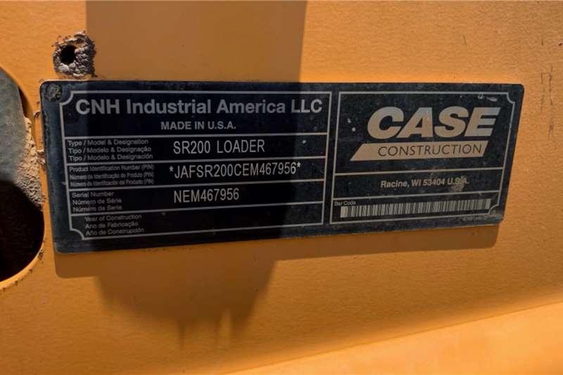 Case SR200 Skidsteer loader