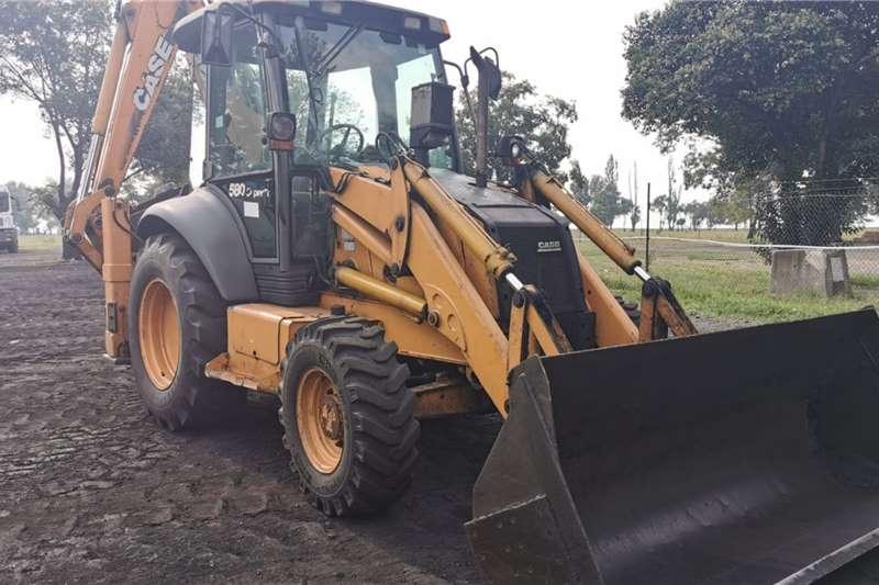 Case TLBs 580SR 4PT Backhoe Loader 2004