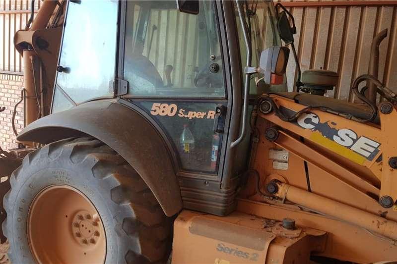 Case TLBs 580SR Backhoe Loader 2007
