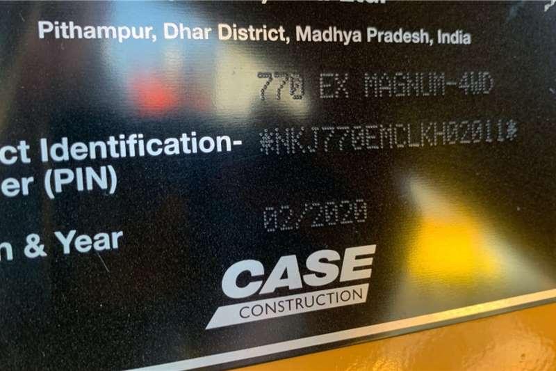Case 770EX 4X4 TLBs