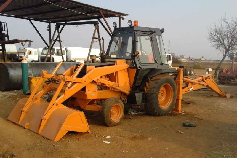 Case TLBs Construction 580 G refurbished 1990