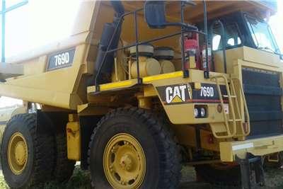 CAT 769D Dumpers