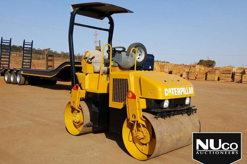 CAT Rollers CAT CB 224E RIDE ON ROLLER