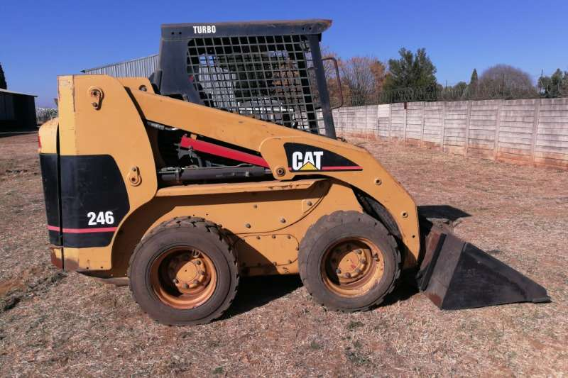 CAT Skidsteer loader Construction 246 2006