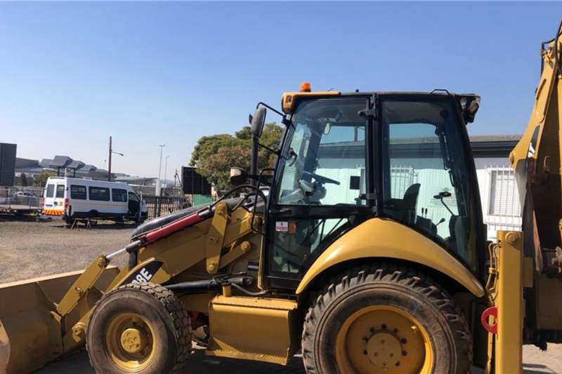 CAT 428E 4X4 Backhoe Loader TLBs