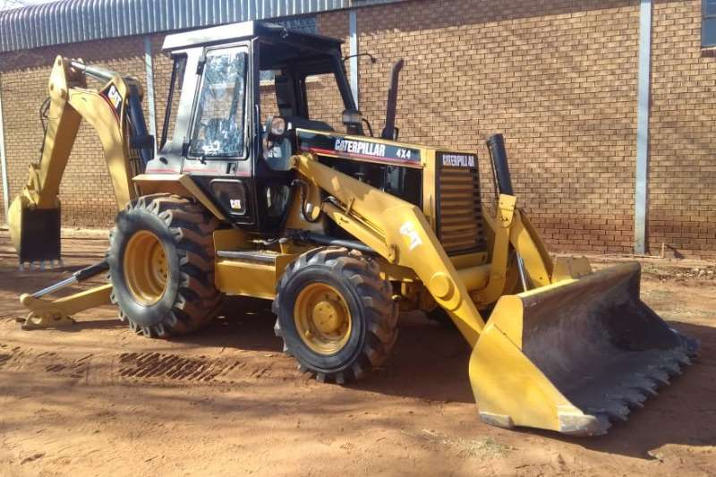 CAT TLBs Construction CAT 416B 4X4 TLB