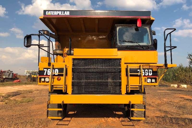 Caterpillar 769D ADTs