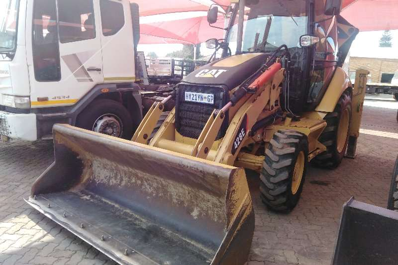 Caterpillar Backhoe loader 428E 2009