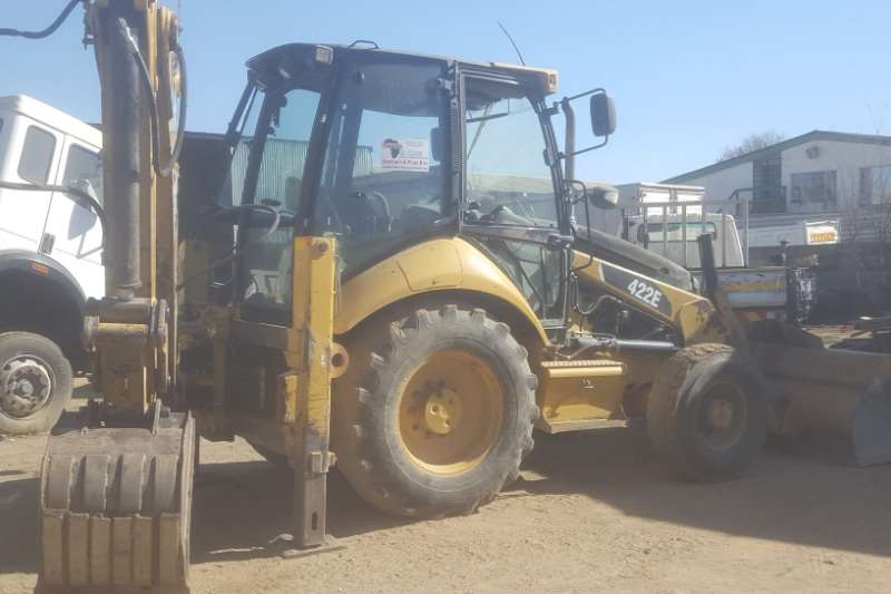 Caterpillar Backhoe loader CAT 422E TLB 2012