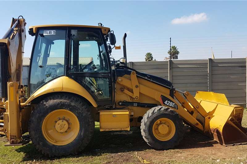 Caterpillar Backhoe Loader CAT 428 E Backhoe 2011