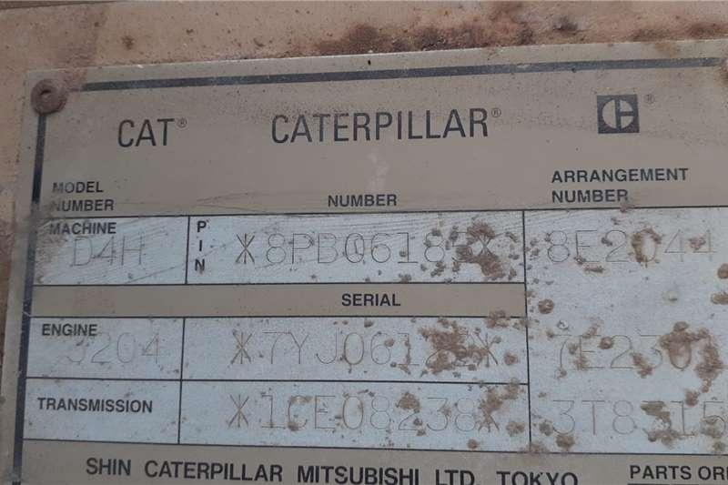 Caterpillar CAT D4H Dozer Dozers