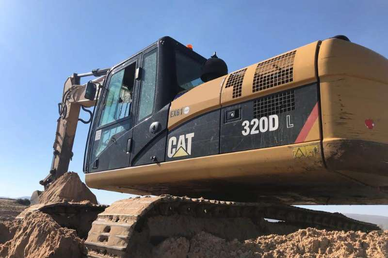 Caterpillar Excavators 320D 2014