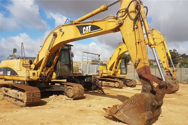 Caterpillar Excavators Caterpillar 320C