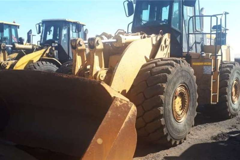 Caterpillar Loaders Construction 980H FRONT END LOADER, 10900 HOURS 2012