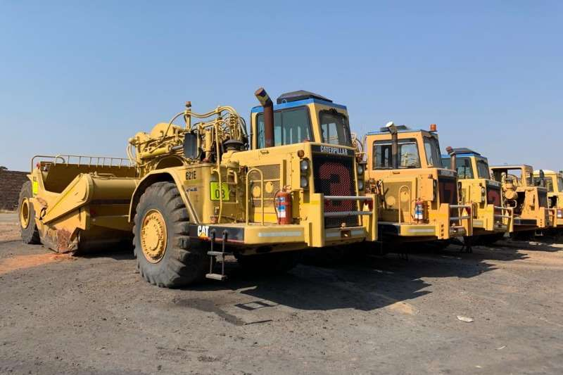 Caterpillar Others 621E Scrapers x 9 (Package)   View by appointment