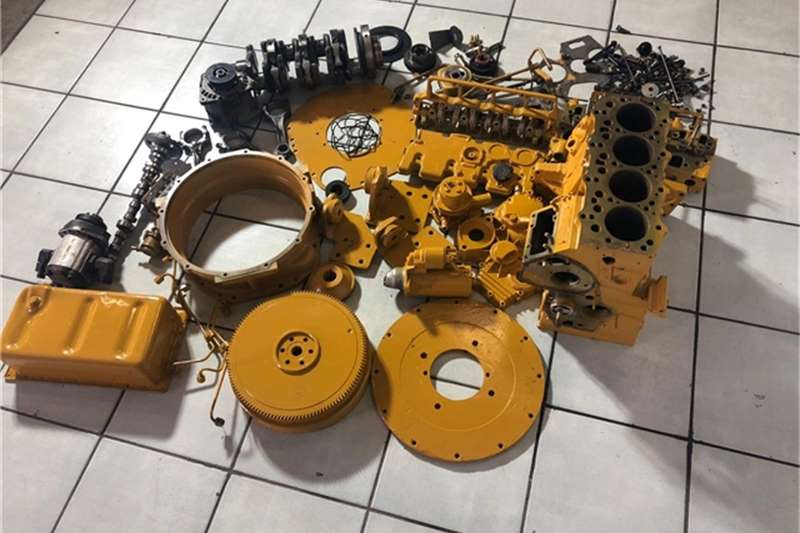 Caterpillar Cat 3042c Turbo Engine Stripping for Spares Rollers
