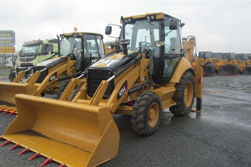 Caterpillar TLBs 428E 2008