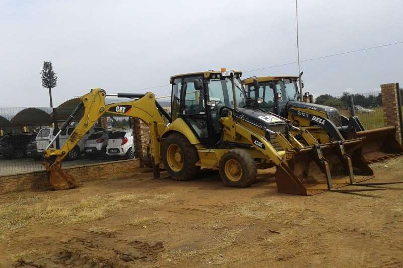 Caterpillar TLBs 428E 2011