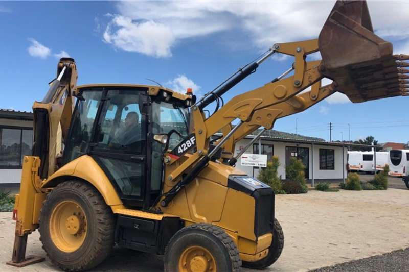 Caterpillar TLBs 428F 2013